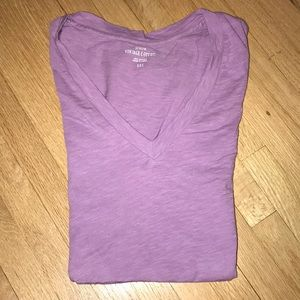 Lavender fitted T-shirt